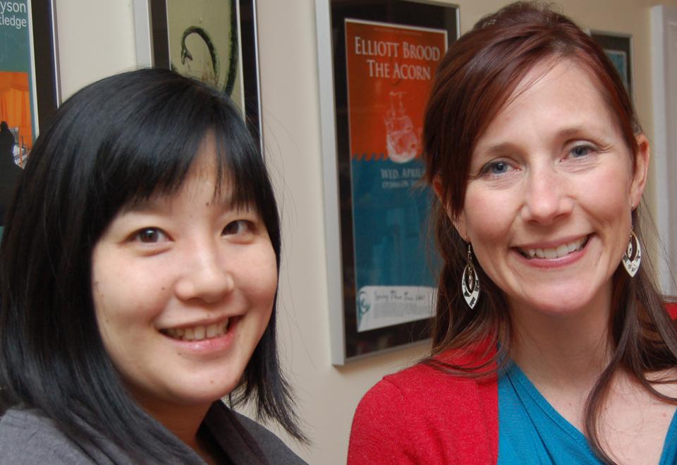 Emily Chen and Amanda Putz