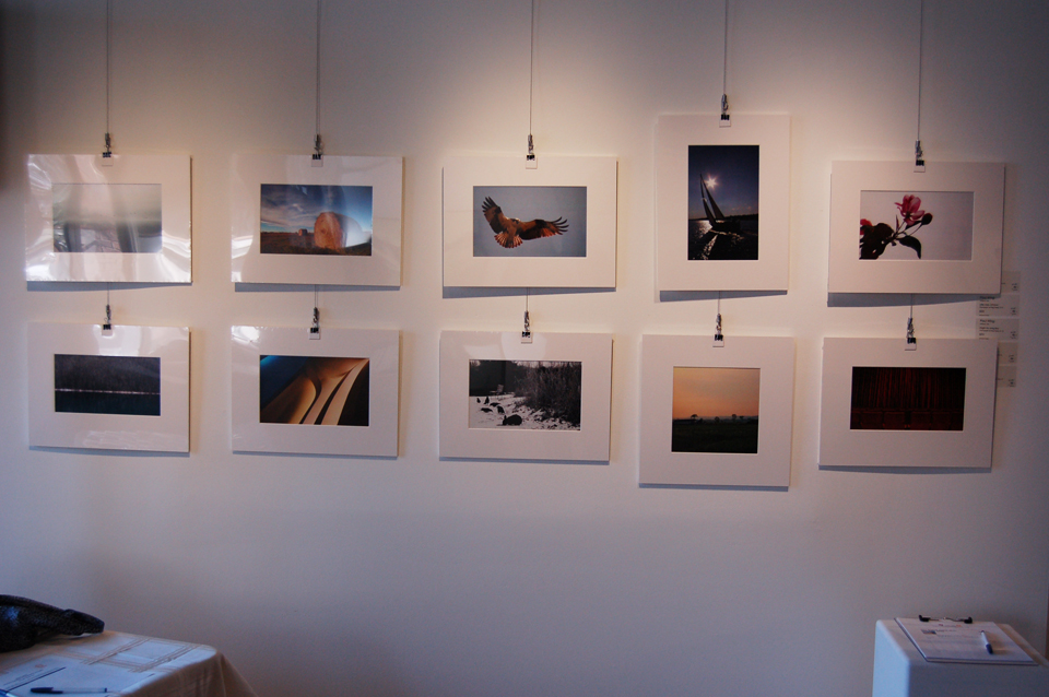 The 10 matted prints from WIDE OPEN: A Canadian Perspective