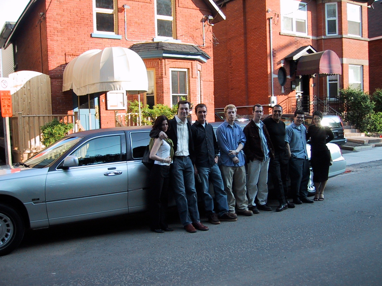 The first management team outing after Beckta's opening, Ottawa, Ont., 2003