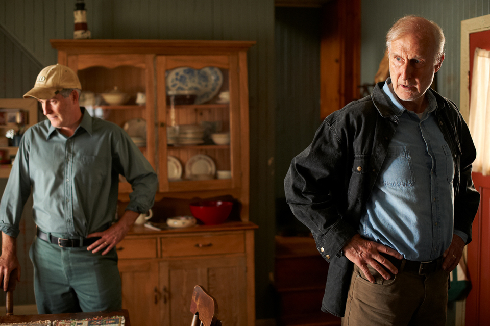 James Cromwell (right) with Rick Roberts in 'Still Mine'