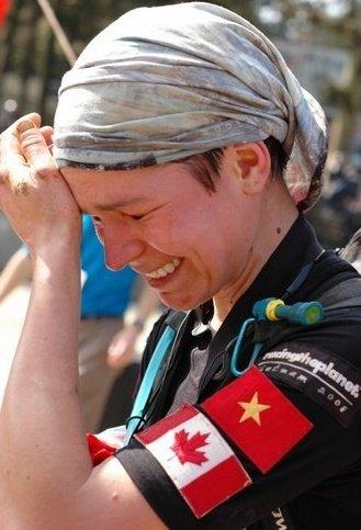 After winning RacingThePlanet: Vietnam, 2008. Photo courtesy of RacingThePlanet