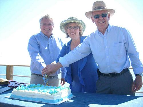 Celebrating the Lochside Revitalization Project, B.C., October 2012