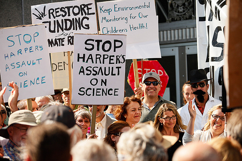 Rally for Science, Ottawa, Ont., September 2012