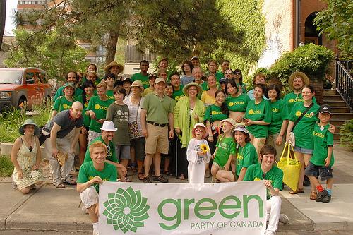 With the Saanich-Gulf Island Greens, Vancouver Island, B.C., July 2011