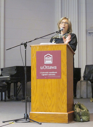 Speaking at uOttawa, March 2013