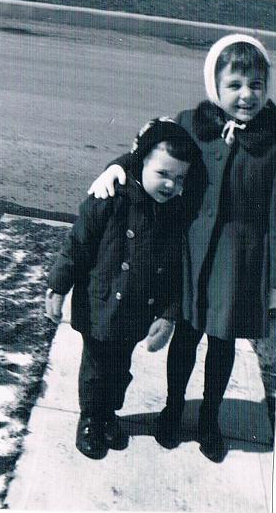 Mark and Cynthia, aged 2 and 5