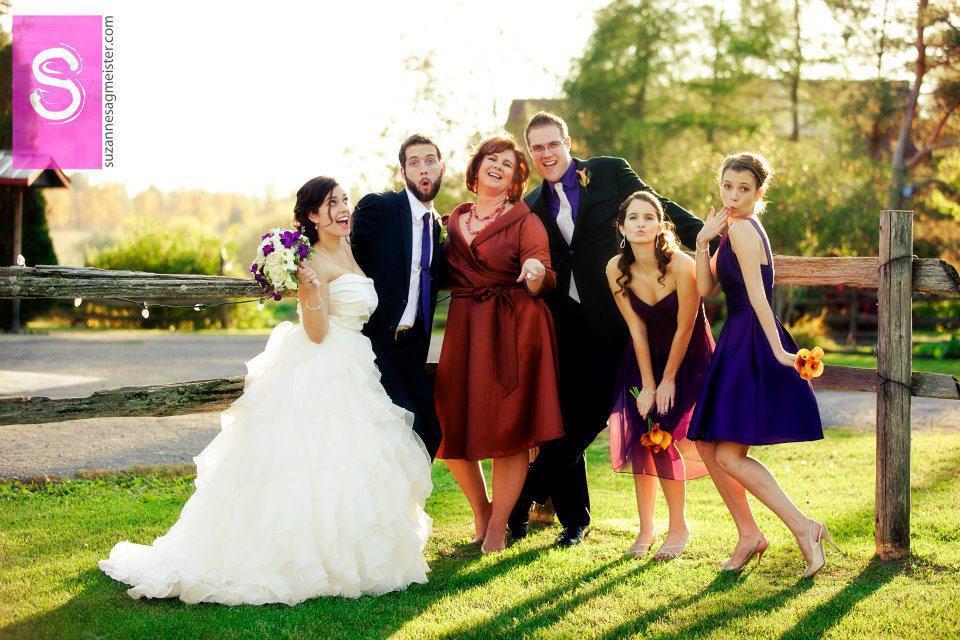 From left: daughter-in-law Amanda, Adam, Cynthia, Brandon, Julia and Lauren, Ottawa, Ont., 2013