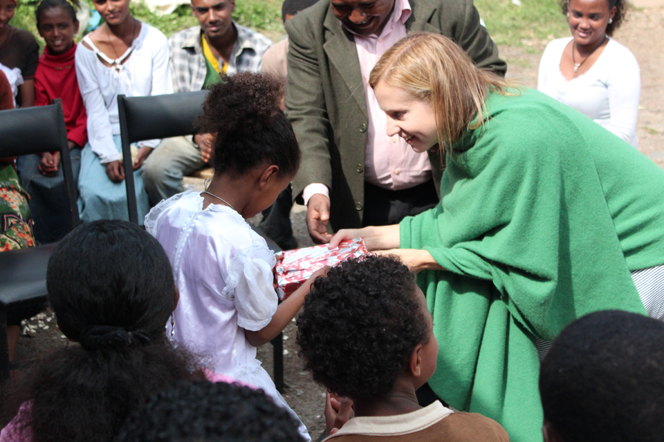 In Addis Ababa, Ethiopia. Photo: War Child Canada