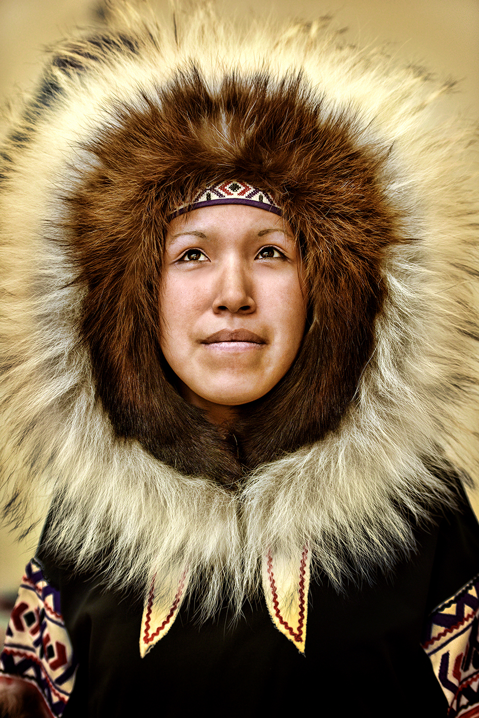 Inuk portrait, Cambridge Bay, Nunavut, September 2014