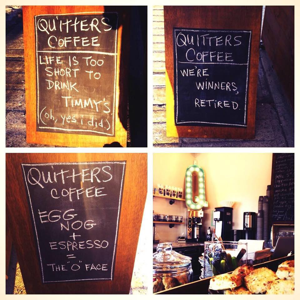 Quitters Coffee