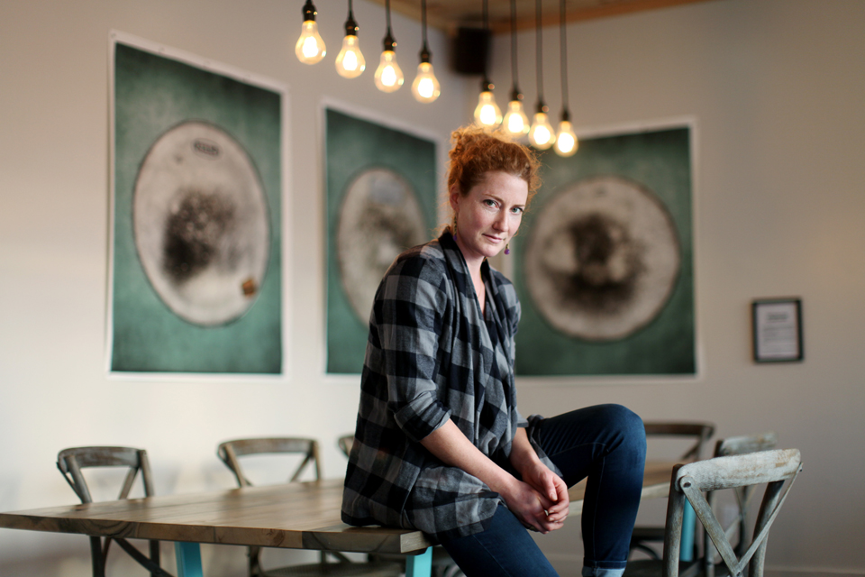 At Quitters Coffee; Photo: Dave Chan for Toronto Star