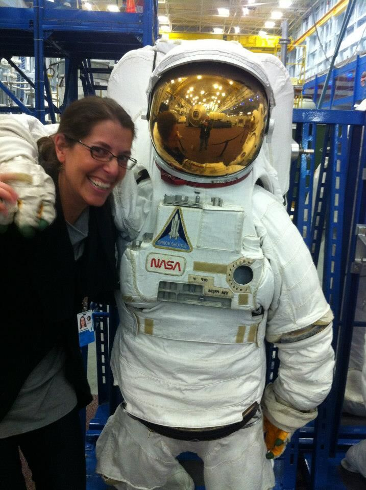 At NASA's Johnson Space Center, Houston, Texas