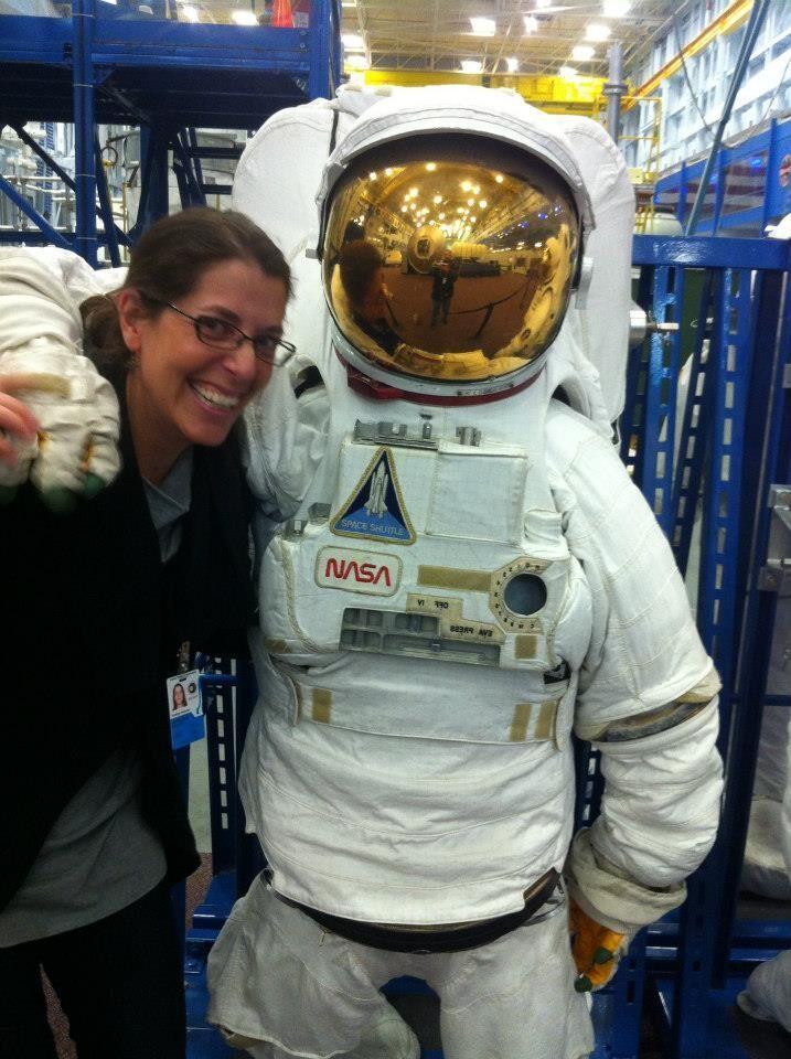 At NASA's Johnson Space Center, Houston, Texas