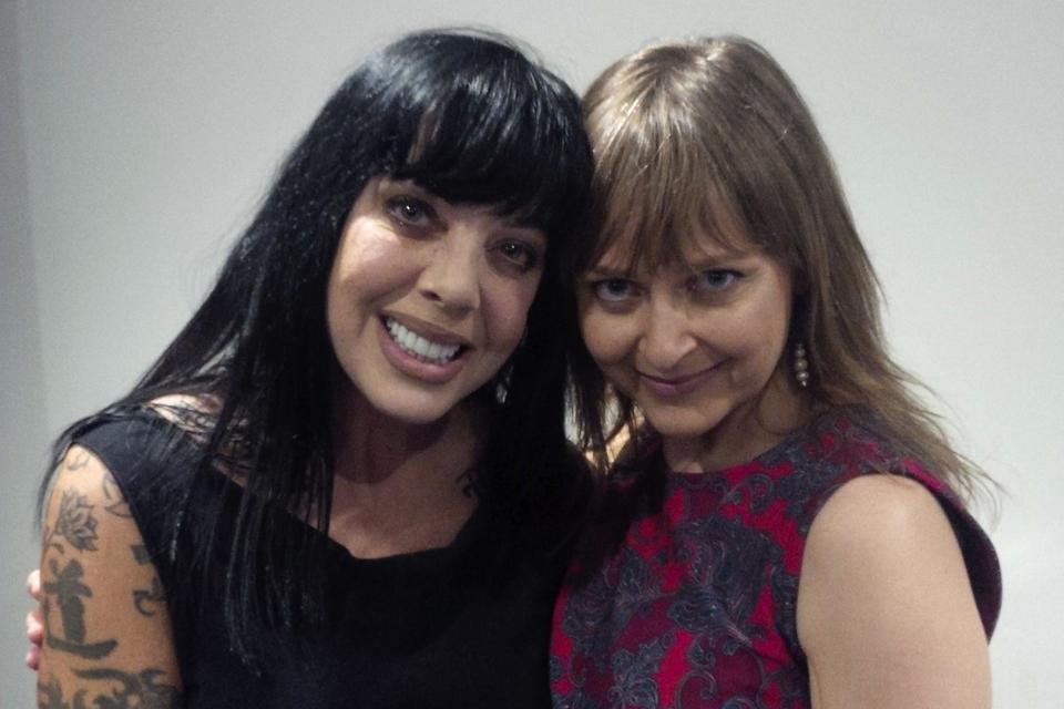 Bif and Teva at the Ottawa International Writers Festival, April 2016
