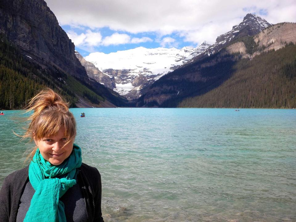 At Lake Louise, Alta.
