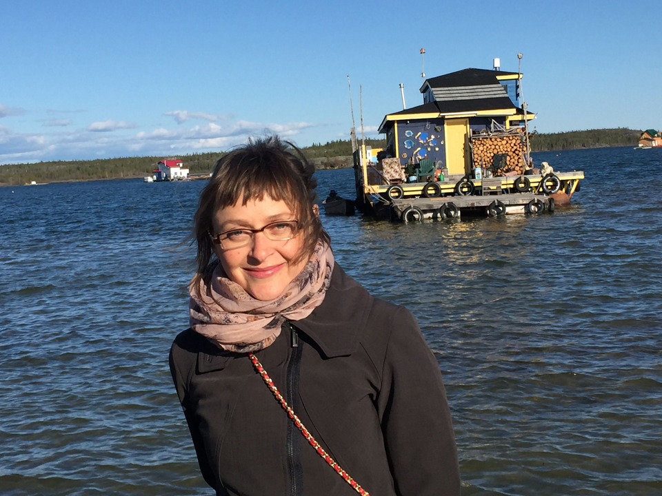 In Yellowknife for Northwords, June 2016; Photo: Lawrence Hill