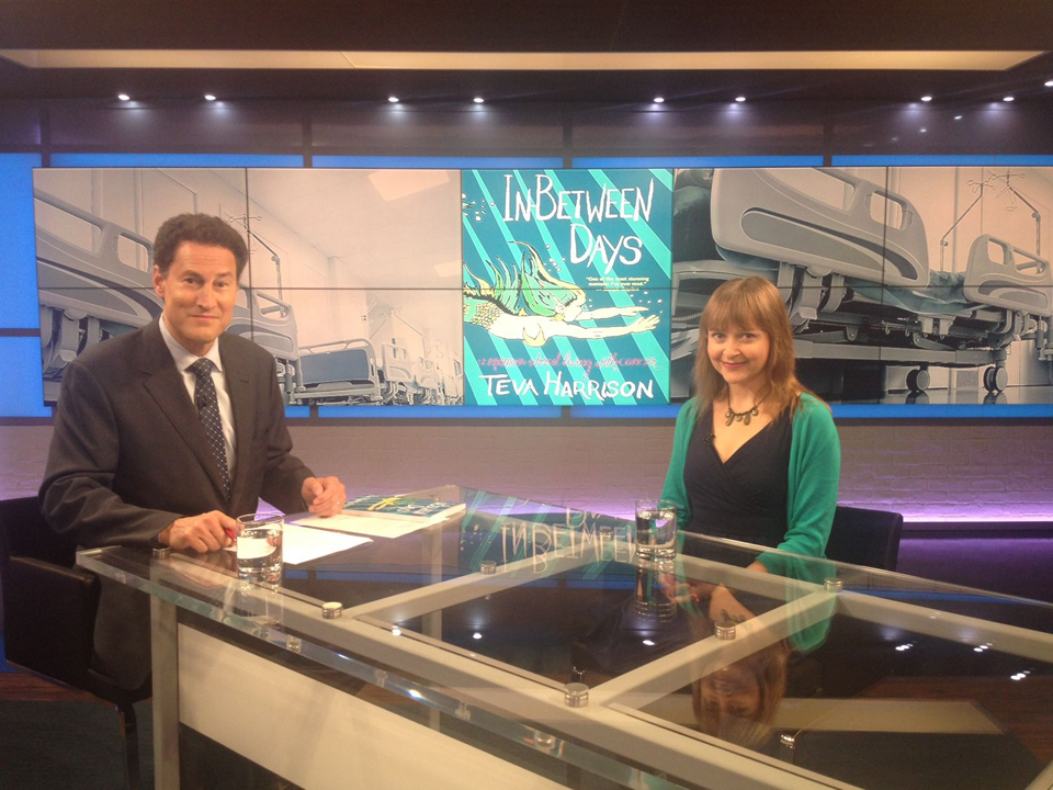 "On ""The Agenda"" with Steve Paikin; Photo: Laura Meyer"