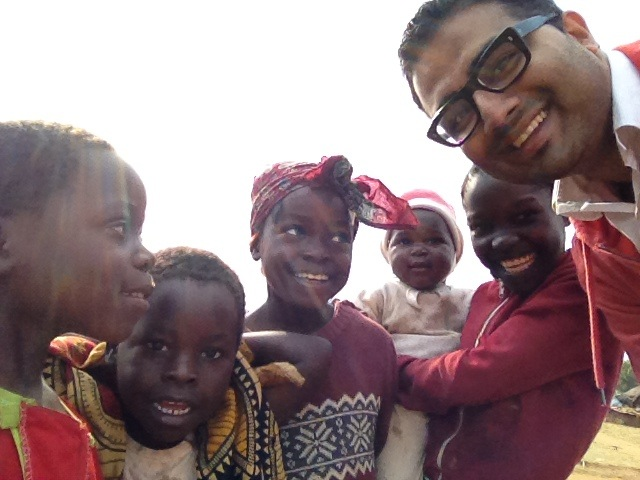 With children from Katete District, Eastern Province, Zambia, 2012