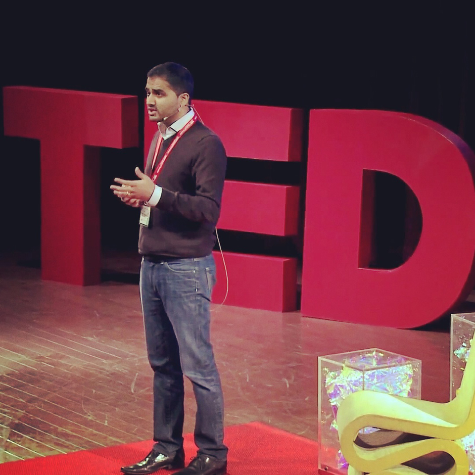 Delivering a TEDx Talk, Toronto, 2012